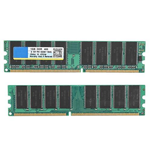 Banco de Memoria, 1GB DDR2 400MHz 184Pin para Placa Base de computadora...