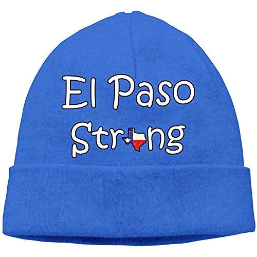 LinUpdate-Store EL Paso Sterke Unisex Hoed Zachte stretch mutsen Skull Cap Hedging Cap Zwart Warmer Winter Herfst Cap-YDW-Y8C