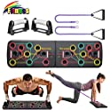 KBY Push Up Board System with Pull Rope