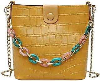 SODIAL Fashion Women's Shoulder Bag Female PU Leather Messenger Bag Flip Composite Handbag Black
