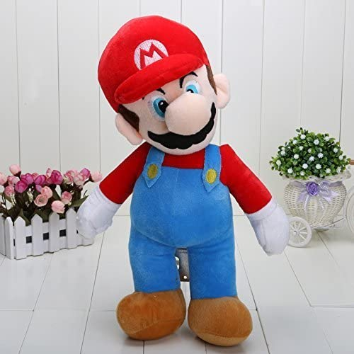 Super Mario Bros Standing Mario Plush Soft Toy Stuffed Animal Gift Figure 16inch by starboyz