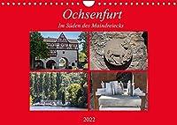 Ochsenfurt im Sueden des Maindreiecks (Wandkalender 2022 DIN A4 quer): Ochsenfurt ist eine typische mainfraenkische Kleinstadt mit intakter Stadtmauer (Monatskalender, 14 Seiten )