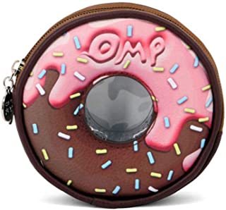Oh My Pop Oh My Pop! Choconut-Round Purse Coin Pouch, 12 cm, Multicolour