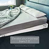 Avana Mattress Elevator - 5-Inch Size - Gentle Incline Under Mattress Support, 5', King