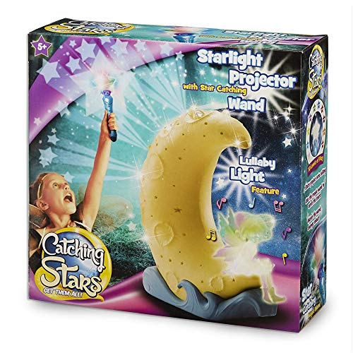 Kids Catching Stars Game with Wand & Night Lamp Function