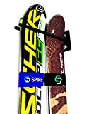 Couple Ski Wall Storage Rack | Steel Home and Garage Skis Mount, 1 Rack