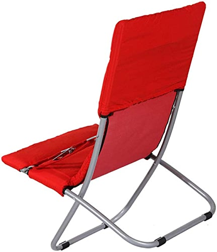 ZXWDIAN Chaise Longue Adulte ménage Portable Dossier Pause déjeuner Chaise Pliante Personnes agées Femmes Enceintes Non-Slip Amovible Lavable Loisirs Sieste Chaise chaises Pliantes