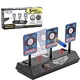 Sparta's Store Objetivo de Tiro eléctrico Compatible para Nerf, Disparos automáticos Target de los niños Juguete!