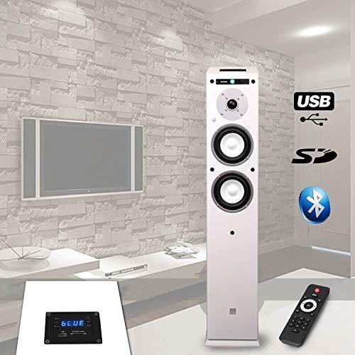 Koda Column AMPLIFIEE Stereo USB/SD/Bluetooth 13cm / 40W