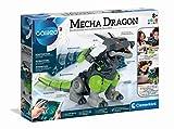 Clementoni 59215 Galileo Robotics – Mecha Dragon, Modellbausatz für einen Drachen-Roboter mit 3 Motoren, Sensoren & App-Steuerung, elektronisches Spielzeug für Kinder ab 8 Jahren