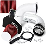 AJP Distributors Chrome Cold Air Intake Cai Induction Performance System For Mustang V8 4.6L