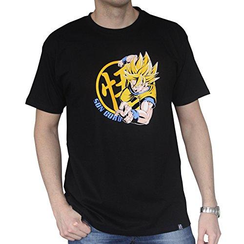 ABYstyle abystyleabytex261-l Abysse Dragon Ball DBZ/Goku Super Saiyan kurzen Ärmeln Mann Basic T-Shirt (groß)