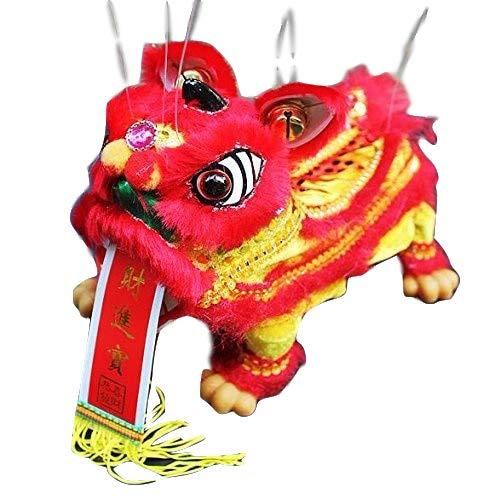 Sparik Enjoy Red Lion Marionette Chinese Hand Marionette Puppet