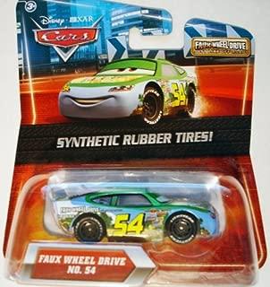 Disney/Pixar Cars Rubber Tires Exclusive Series Faux Wheel Drive No. 54 1:55 Scale
