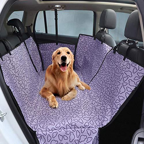 YLCWZD Hundeabdeckung Auto Hundeträger Wasserdicht Hinten Hinten Hund Autositzbezug Matten Hängemattenschutz Mit Sicherheitsgurt Transportin Perro, 7.130X150X55Cm
