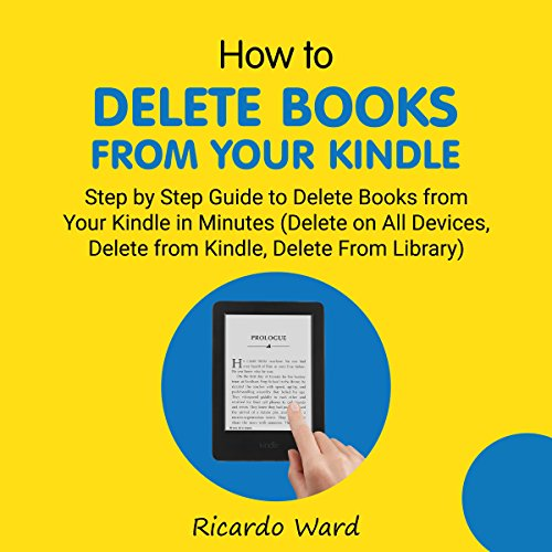How to Delete Books from Your Kindle audiobook cover art