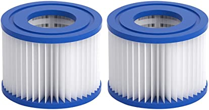 Vegas AODENER Replacement Filter Cartridge for Pools Swimming Pool Filter Pump Type VI Cartridge for for Lay-Z-Spa Miami Monaco 4.09 * 3.14 * 2.04in