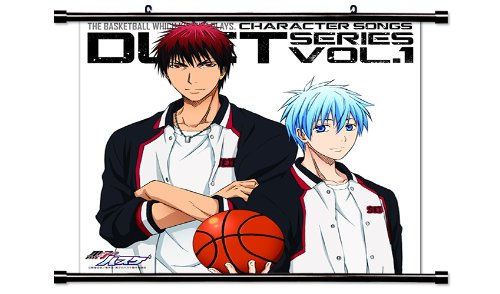 Kuroko No Basket Anime Fabric Wall Scroll Poster (32\