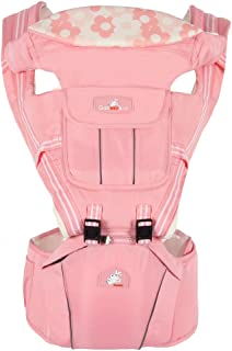 ZL Multi-Functional Baby Strap Waist Stool Four Seasons Baby Strap in Ergonomic Position 3 Carrying Ways,F
