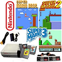 Nintendo NES Game System with Super Mario Bros. 1, 2 & 3 (Renewed)