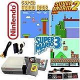 nes super mario - Nintendo NES Game System with Super Mario Bros. 1, 2 & 3 (Renewed)