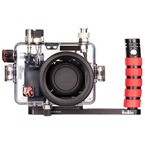Ikelite 6910.60 Carcasa submarina para cámara - Carcasa acuática para cámaras (60 m, Policarbonato, Transparente, Resistente al Agua, Sony Alpha a6000, 160 mm)
