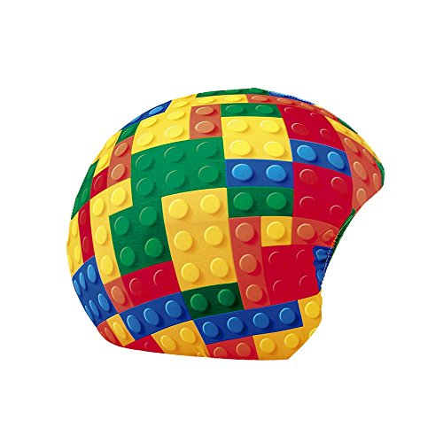 COOLCASC Funda Universal de Casco Print Lego Blocks