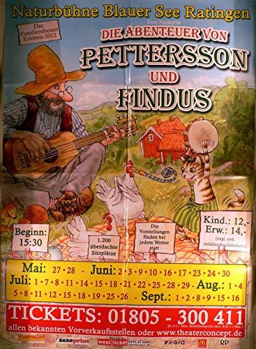 Pettersson und Findus - Ratingen 2012 - Veranstaltungs-Poster A1