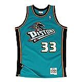 Mitchell & Ness Replica Swingman NBA Jersey HWC 33 Grant Hill Detroit Pistons Basketball Trikot