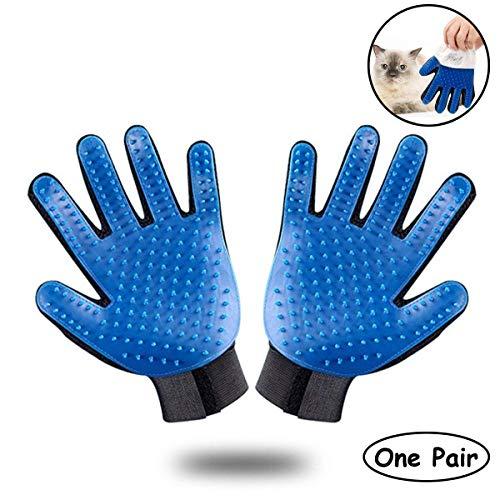 Ootori Pet Grooming Glove - Gentle Deshedding Brush Glove - Efficient Pet Hair Remover Mitt -...