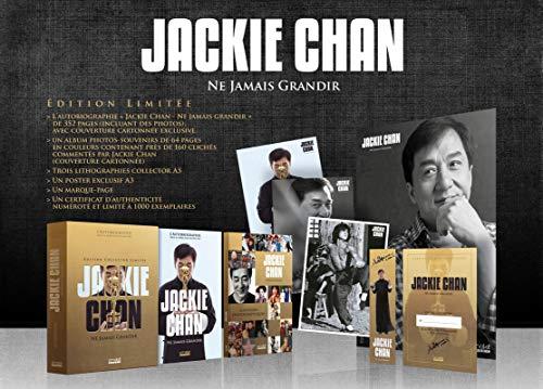 Coffret Jackie Chan - Ne Jamais Grandir (édition collector)