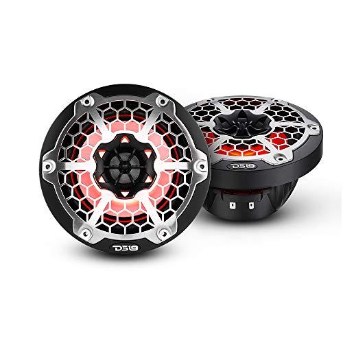 DS18 NXL-6M/BK Matte Black Marine Speaker - 6.5