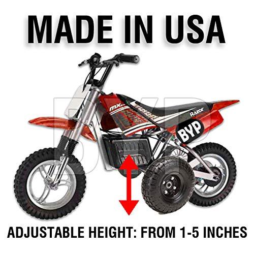 BYP_MFG_INC Adjustable Height Razor MX500 500 MX Kids Youth Training Wheels ONLY