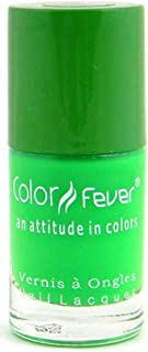 Color Fever Neon Green Nail Lacquer