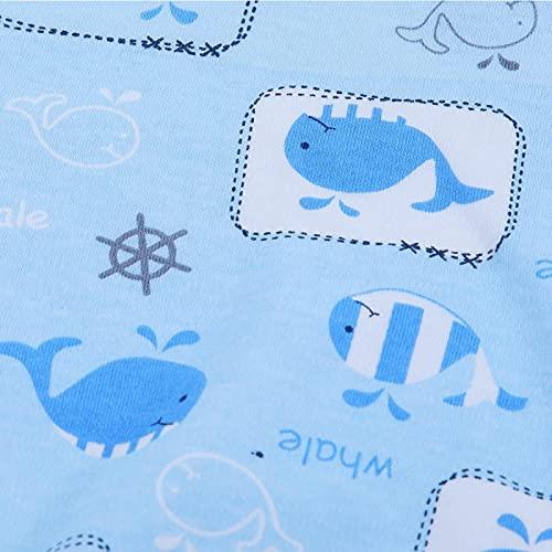 KUIDAMOS Sleepsacks for Babies Receiving Blanket Baby Shower Swaddle Prevents Startle Reflex for Boy and Girl Cotton(S)