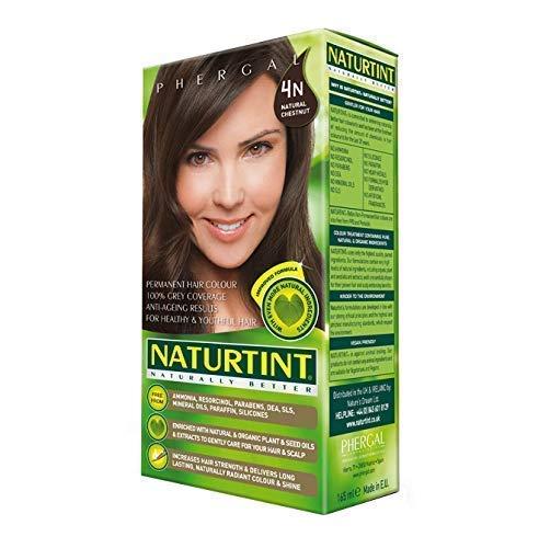 Permanent Hair Color Natural Chestnut, 4N ( Multi-Pack) 4 Pack