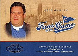 Jeff Garlin trading card 2004 Donruss Fans of the Game #254FG4 Curb Your Enthusiasm Star