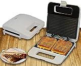 WSJTT toastie Maker Mini máquina para Hornear eléctrica de nueces, máquina de sándwiches de gofres de Pan, tostadora de sartén, para refrigerios, Desayuno rápido, Regalo de Cocina