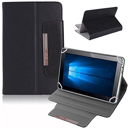 na commerce Tablet Tasche Hulle Schutzhulle fur 9 Zoll Case Schutz Cover Universal Bag Klapp FarbenSchwarz
