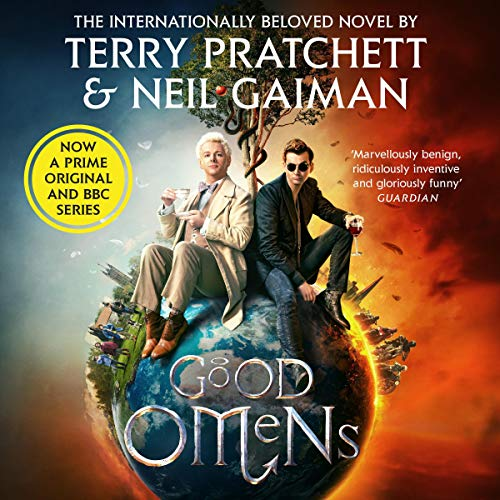 Good Omens                   By:                                                                                                                                 Neil Gaiman,                                                                                        Terry Pratchett                               Narrated by:                                                                                                                                 Martin Jarvis                      Length: 12 hrs and 33 mins     131 ratings     Overall 4.7