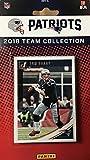 New England Patriots 2018 Donruss 13 Karten Team Set mit Tom Brady, Rob Gronkowski, Rookie Karten von Sony Michel, Duke Dawson und Danny Etling Plus -