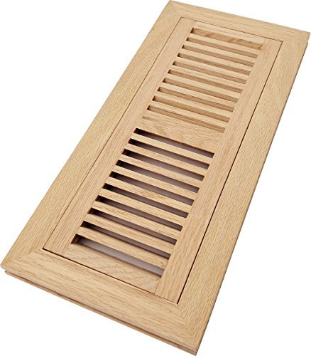 oak flush mount floor register - 5