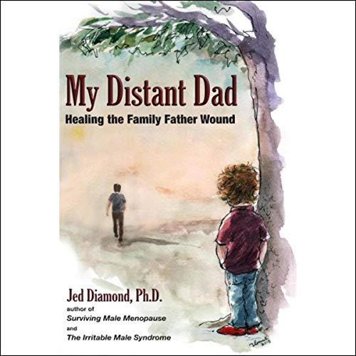 My Distant Dad audiobook cover art