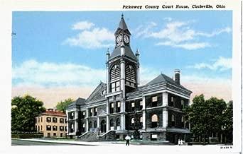 Photo Reprint Pickaway County Court house, Circleville, Ohio