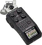 Zoom Ampliar H6 Grabador Portátil 6 Pistas Micrófonos XLR 4 X, Negro
