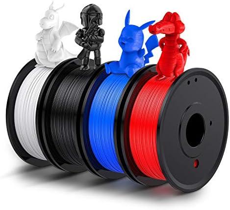 3D Printer PLA Filament 1 75mm LABISTS Plastic 3D Printing PLA Filament Bundle 1kg 2 2lb 0 25KG product image