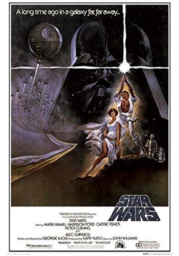 Star Wars 90cm x 60cm Trilogy Poster Triple Pack 3x *Framed* Large Posters