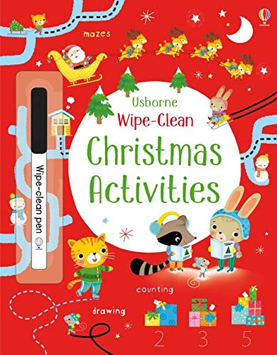 Wipe-Clean Christmas Activities (Wipe-clean Books)