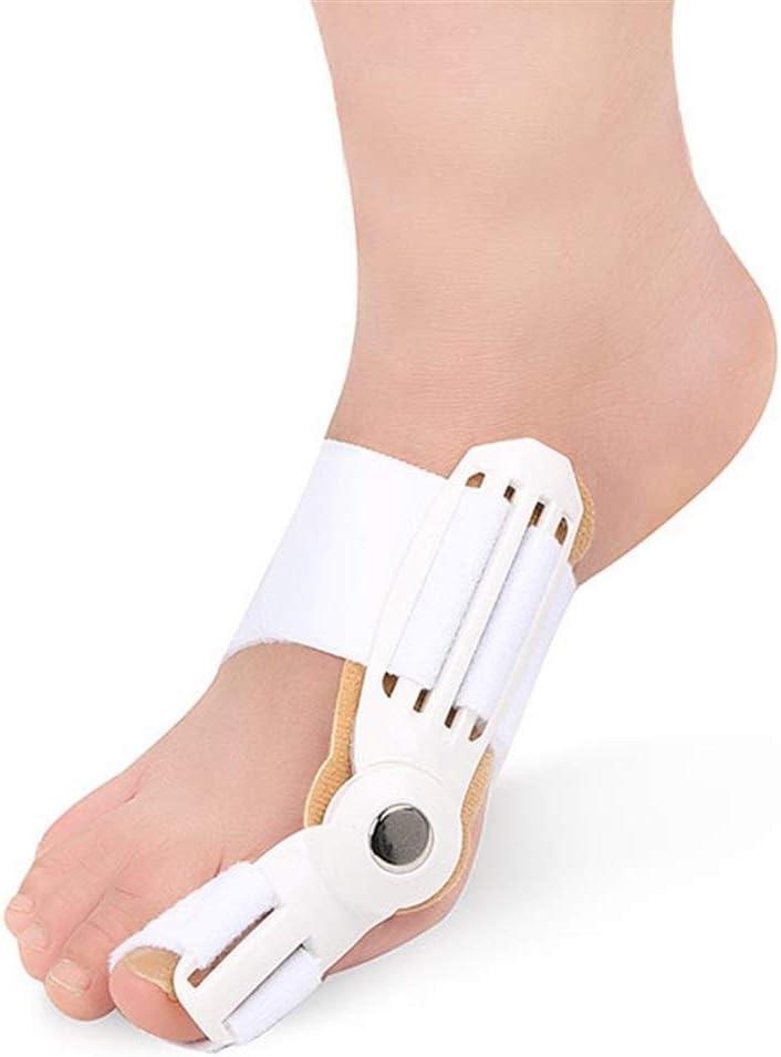 Ortesis de pie, ortesis separador de dedos, alivia ortesis dedo del pie, bigfoot, hallux valgus ortesis, cuidado de los pies, el uso diario, los adultos puede llevar zapatos for el día y la noche dedo