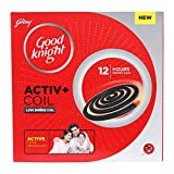 Good Knight Activ+ Low Smoke Coil - Pack of 10